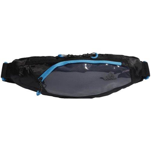 ee921c4cbadc Спортивная поясная сумка Run Waist, черная с бирюзовым - Типография ...