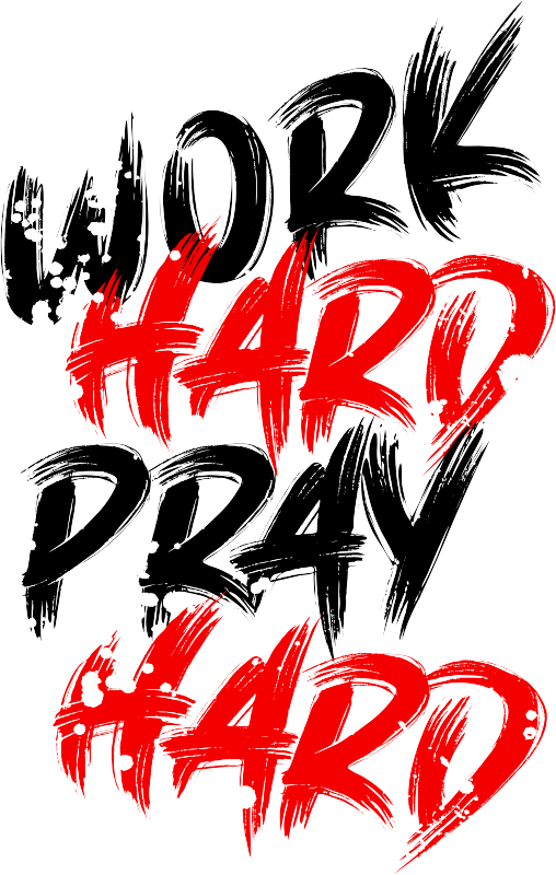 8 work hard black.psd